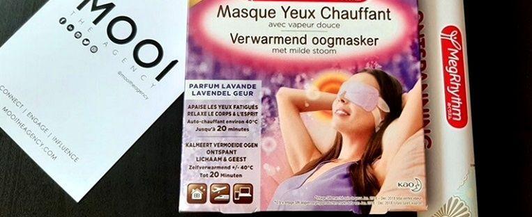 MegRhythm zelfverwarmend oogmasker 10
