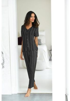 lascana-pyjama-zwart