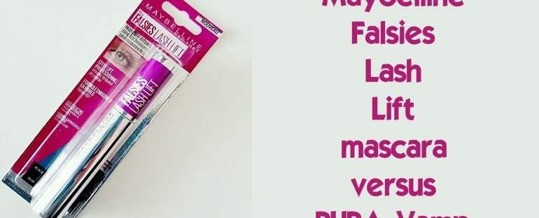 Review! Maybelline Falsies Lash Lift mascara versus PUPA Vamp 63 maybelline falsies lash lift mascara Review! Maybelline Falsies Lash Lift mascara versus PUPA Vamp Pupa Milano
