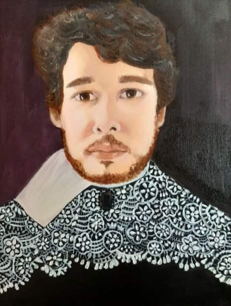 schilderij tom