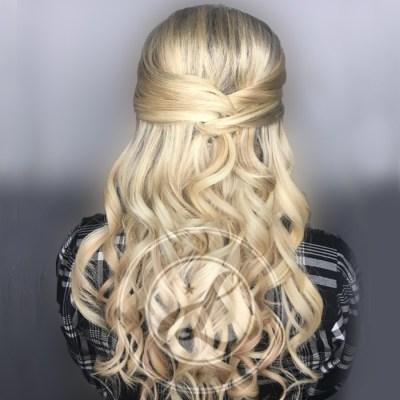 beautiful blonde wedding hair lake oswego