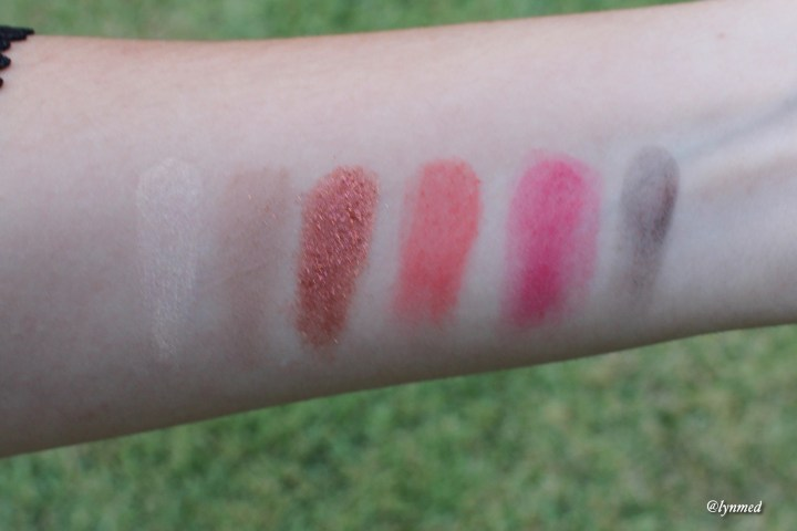 Fruit A la LA palette swatches