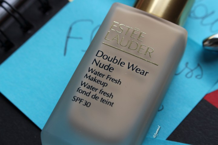 Double wear Nude foundation