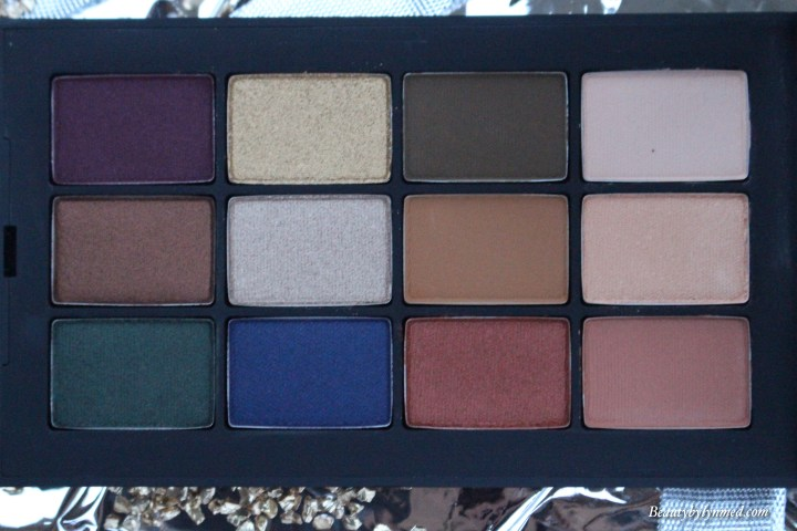 Nars x Man Ray -love eyeshadow palette review