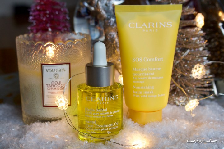 Beat the cold weather with my Clarins SOS routine