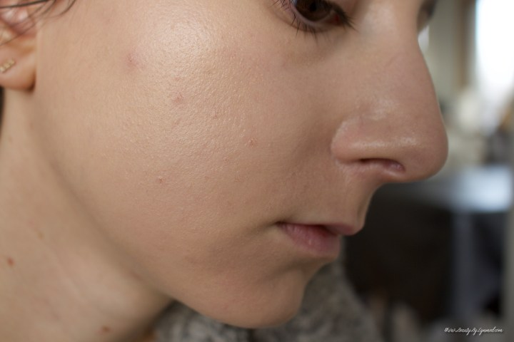 Nars Natural Radiant Longwear Foundation Before after