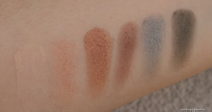 Estée Lauder Bronze Goddess Summer Look palette swatch