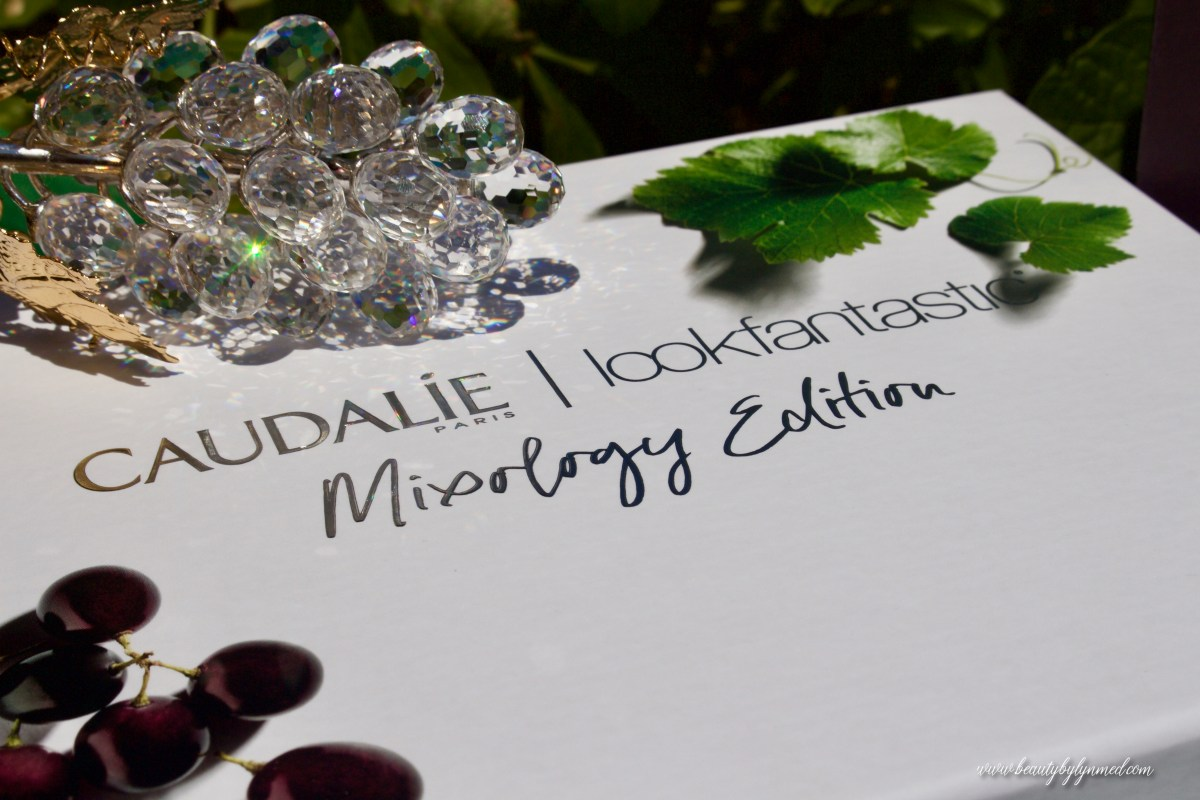Look Fantastic x Caudalie Mixology Edition Beauty Box - PERFECTION in a box!