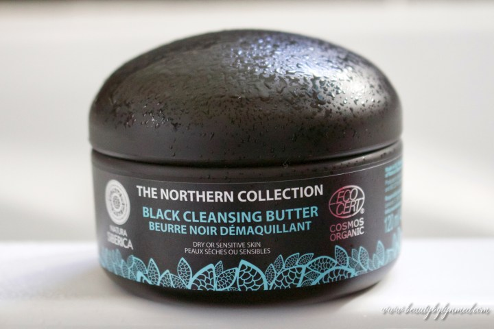 Double Cleansing With Natura Siberica Black Cleansing Butter