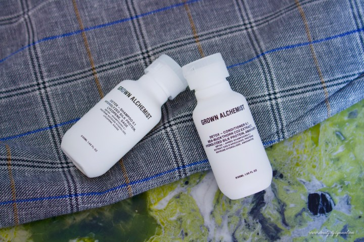 Detox Shampoo & Detox Conditioner de Grown Alchemist