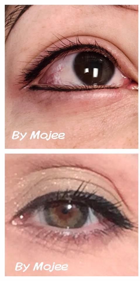 eyeliner collage