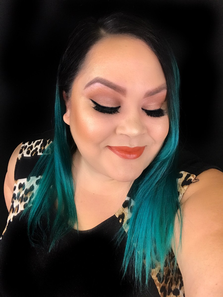 learn how to get bronze smokey eyes tutorial