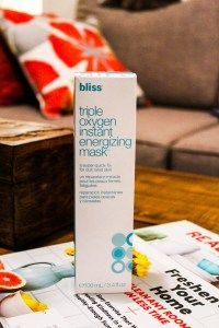 BLISS Triple Oxygen Instant Energizing Face Mask