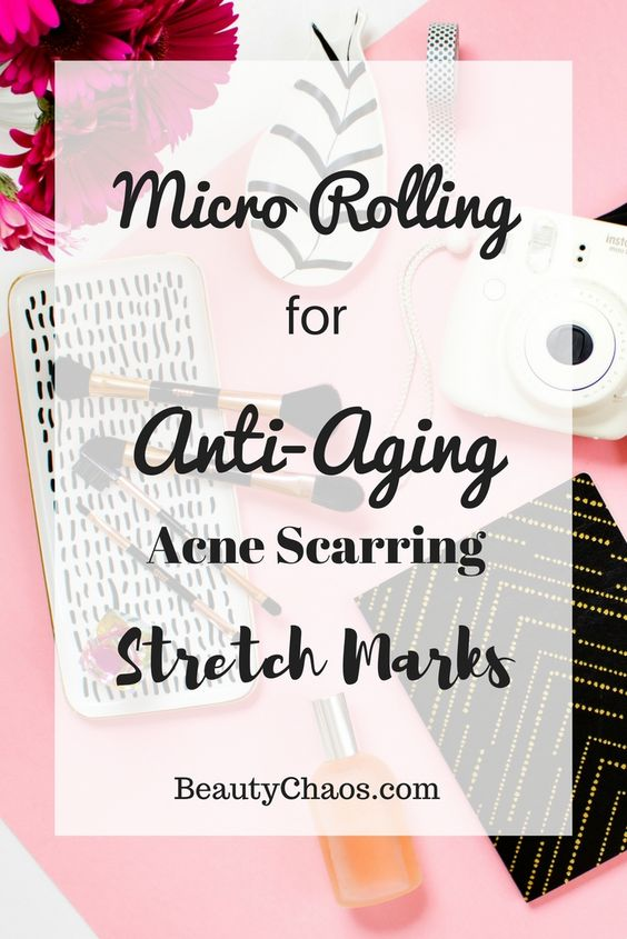 Micro Rolling for Anti Aging Pin