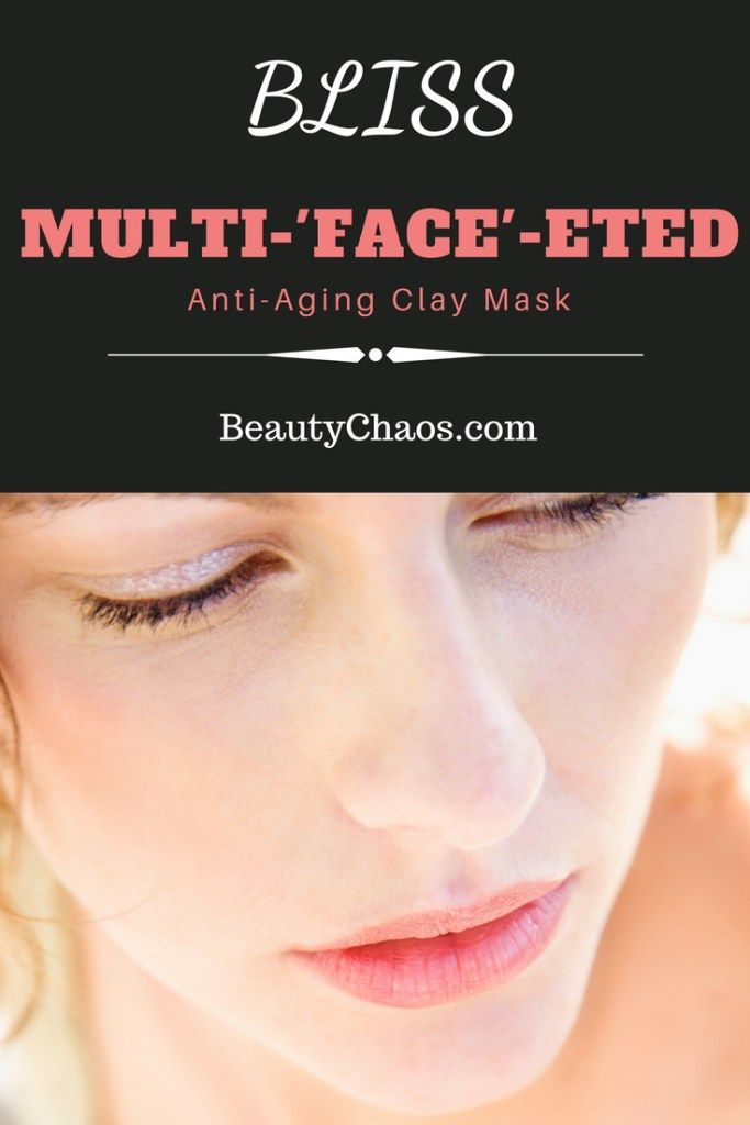 Bliss Multi Face-eted Anti-Aging Clay Mask Pin - Beauty Chaos