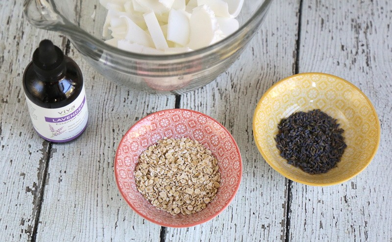 Lavender Oatmeal Soap Recipe Ingredients
