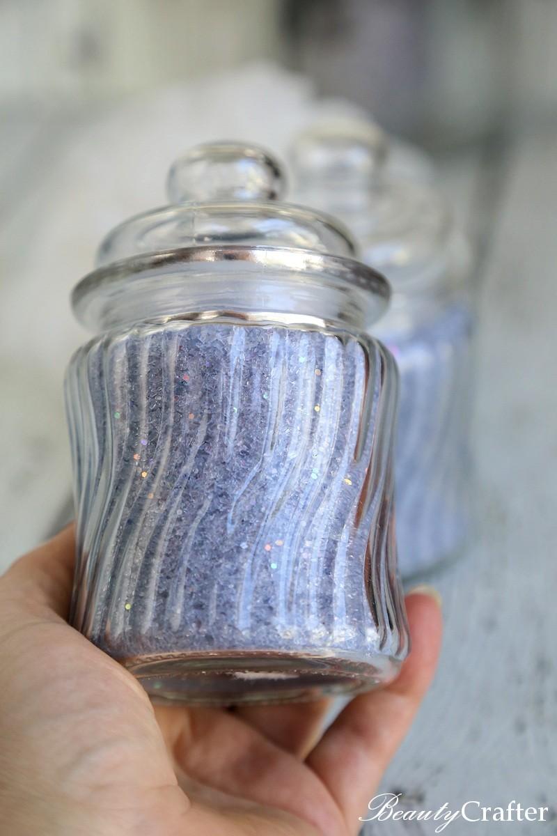 Sparkling Lavender Bath Salts Recipe