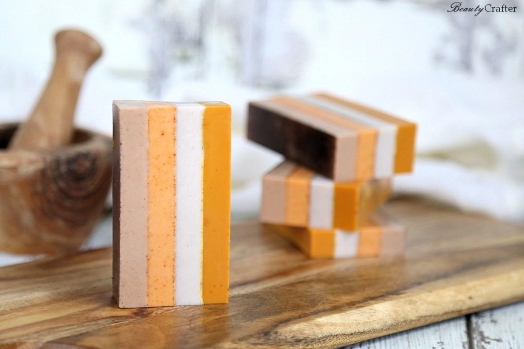 Striped Spice Soap