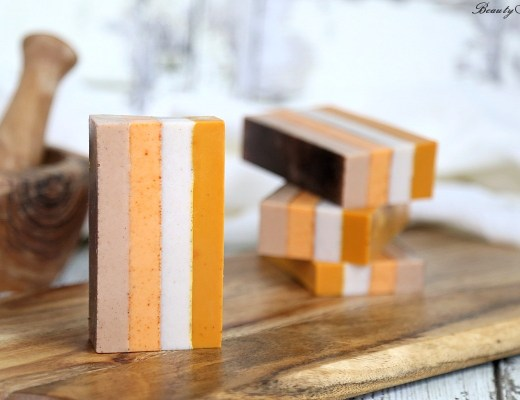 Striped Spice Soap
