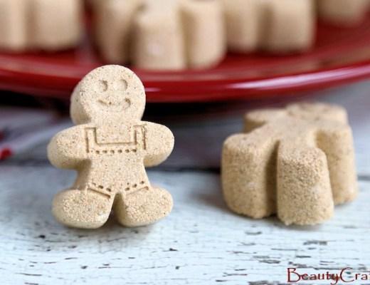 Gingerbread bath bomb mold