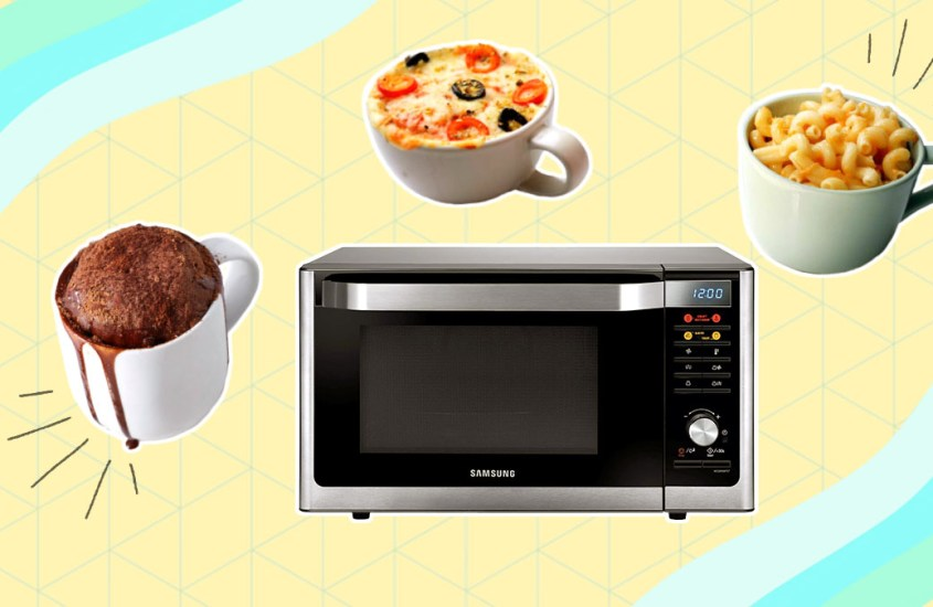6 Easy Microwave Recipes to Try While at Home