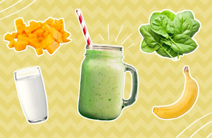 Easy Healthy Green Smoothie Recipe