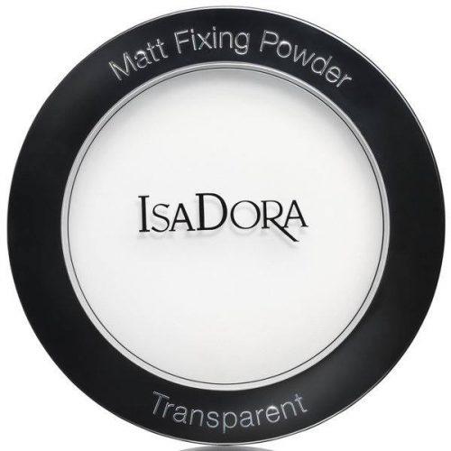 Матирующая прозрачная пудра - isadora Matt Fixing Powder