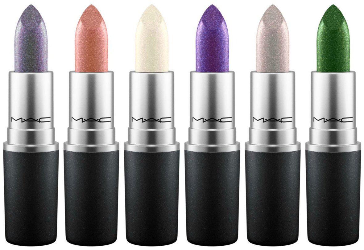 MAC Nightly Ritual Pale Rosé Pearly One Royal Hour Silver Spoon Zerocool