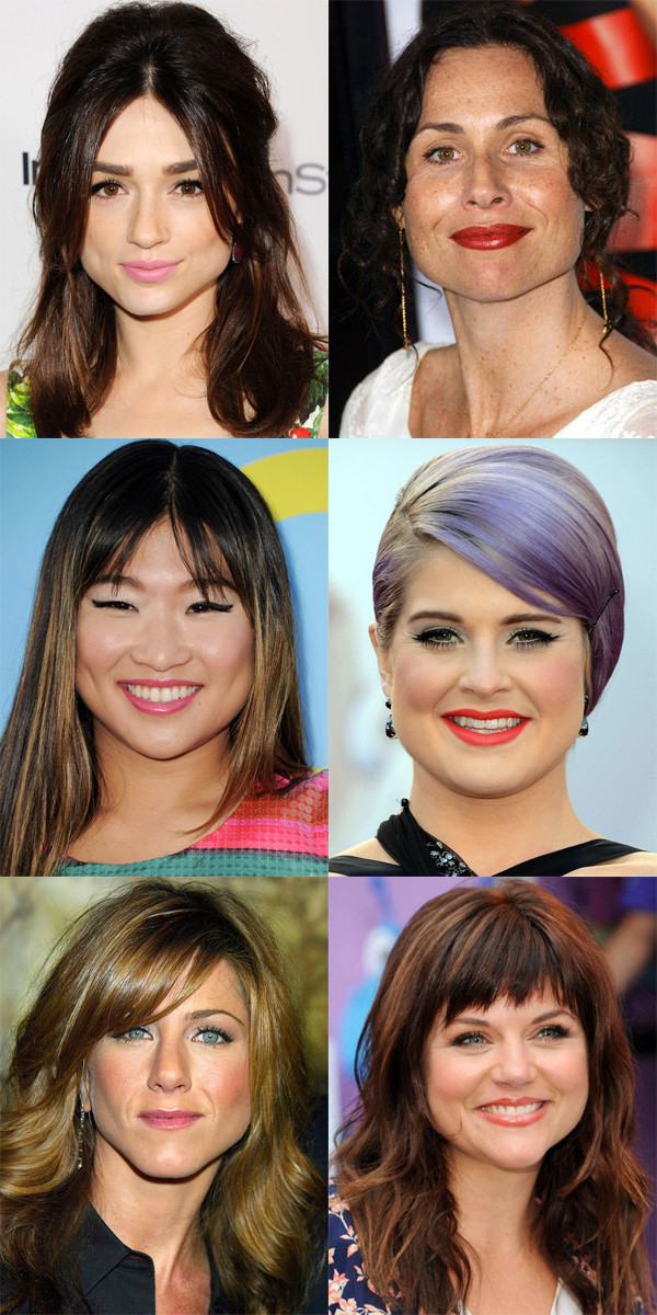 The Best And Worst Bangs For Pear Shaped Faces