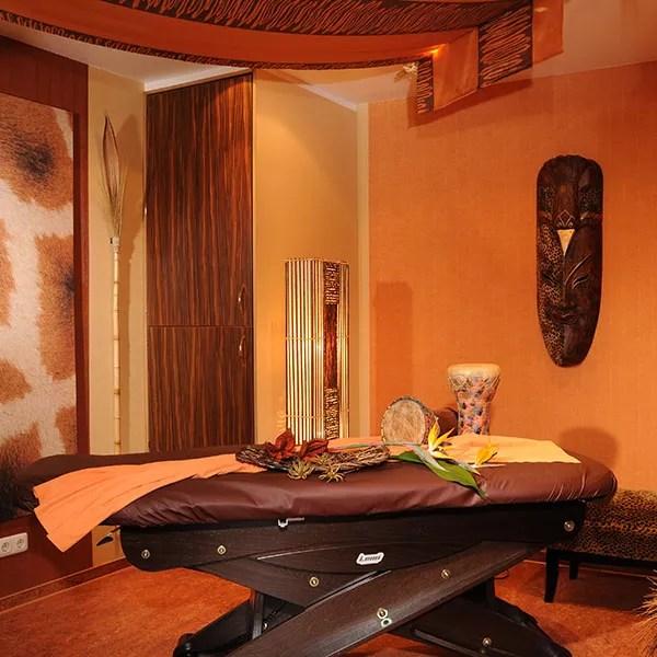 Beautyfarm Bel Etage Weiskirchen Raum Afrika Detail
