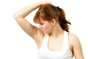 Get rid of smelly underarms with 2 ingredients!