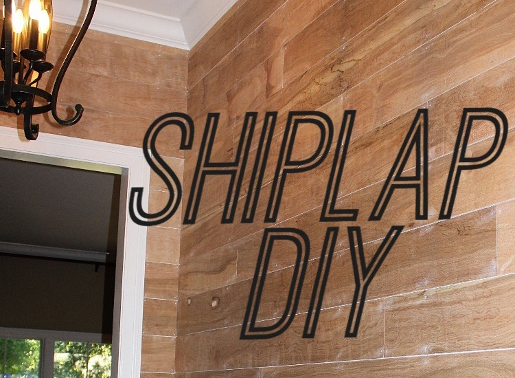 Shiplap DIY