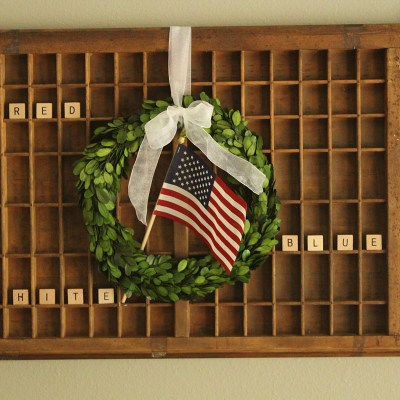 4th of July Decorating on a Budget