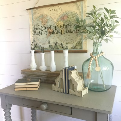 Thrift Store Table Flip with Chalk Paint