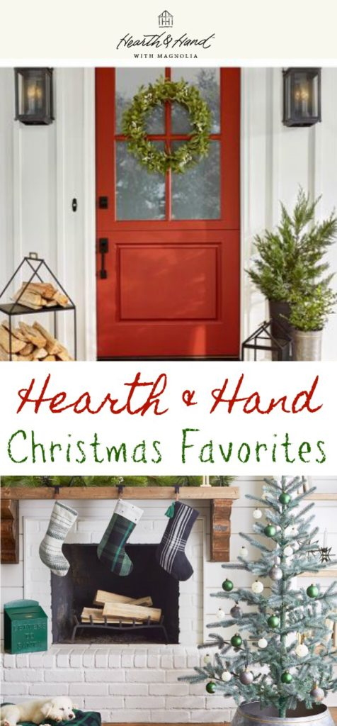 Joanna Gaines does it again. She has teamed up with Target to offer the Hearth & Home collection. I'm sharing some of my modern farmhouse Christmas favorites from the collection.