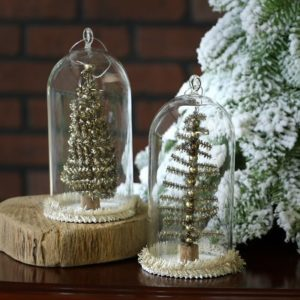 A roundup of farmhouse style Christmas decor for under $20. The perfect fixer upper inspired look for a vintage farmhouse Christmas.