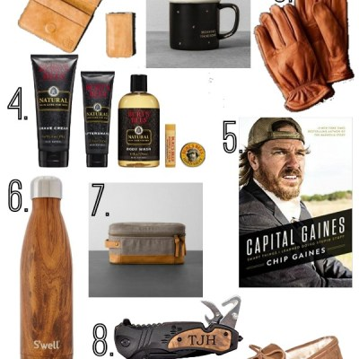 Holiday Gift Guide for Him (Under $40)