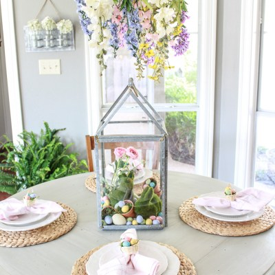 Hippity Hoppity Easter Decor Tour