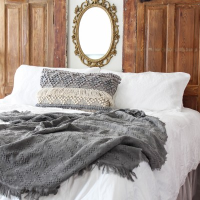 How to Make a DIY Headboard and Bed Frame