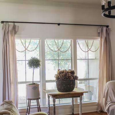 DIY Window Garland: Simple Trick to Add Charm