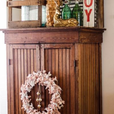 Christmas Rag Wreath Tutorial