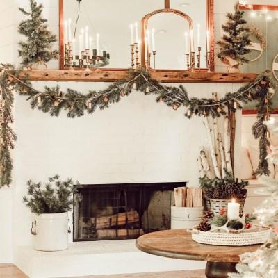 Cozy Christmas Living Room Tour