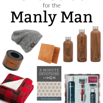Christmas Gift Guide for the Manly Man