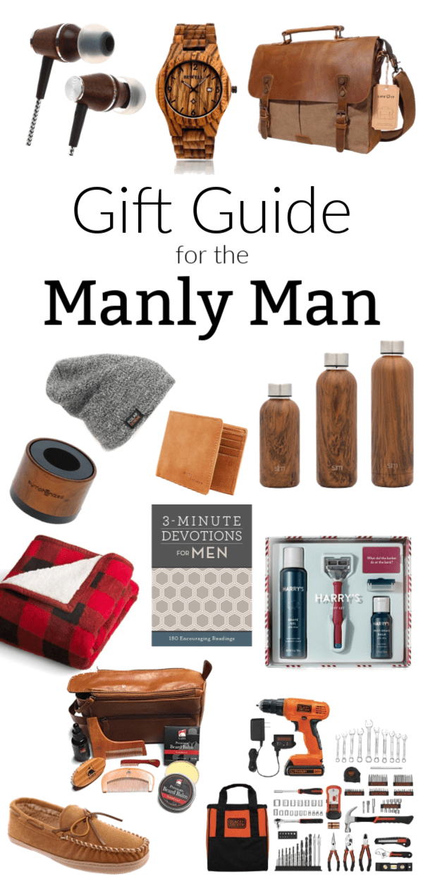 A Christmas gift guide for all the manly men in your life. These are all great deals for bargin prices and you are sure to find something for everyone!