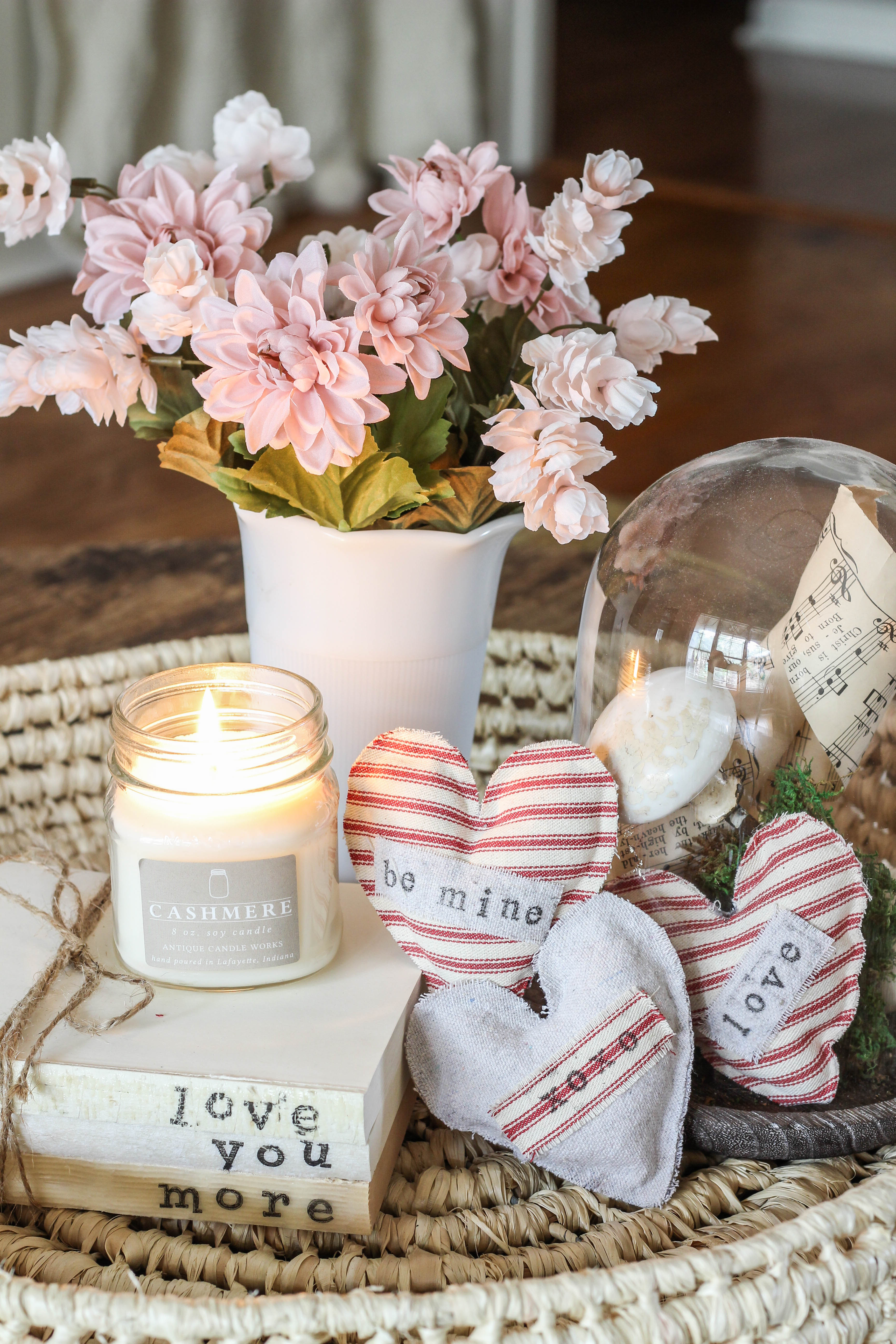 Learn how you can make Valentine DIY lavender sachets with supplies you already have at home. These make great gifts for friends and teachers!