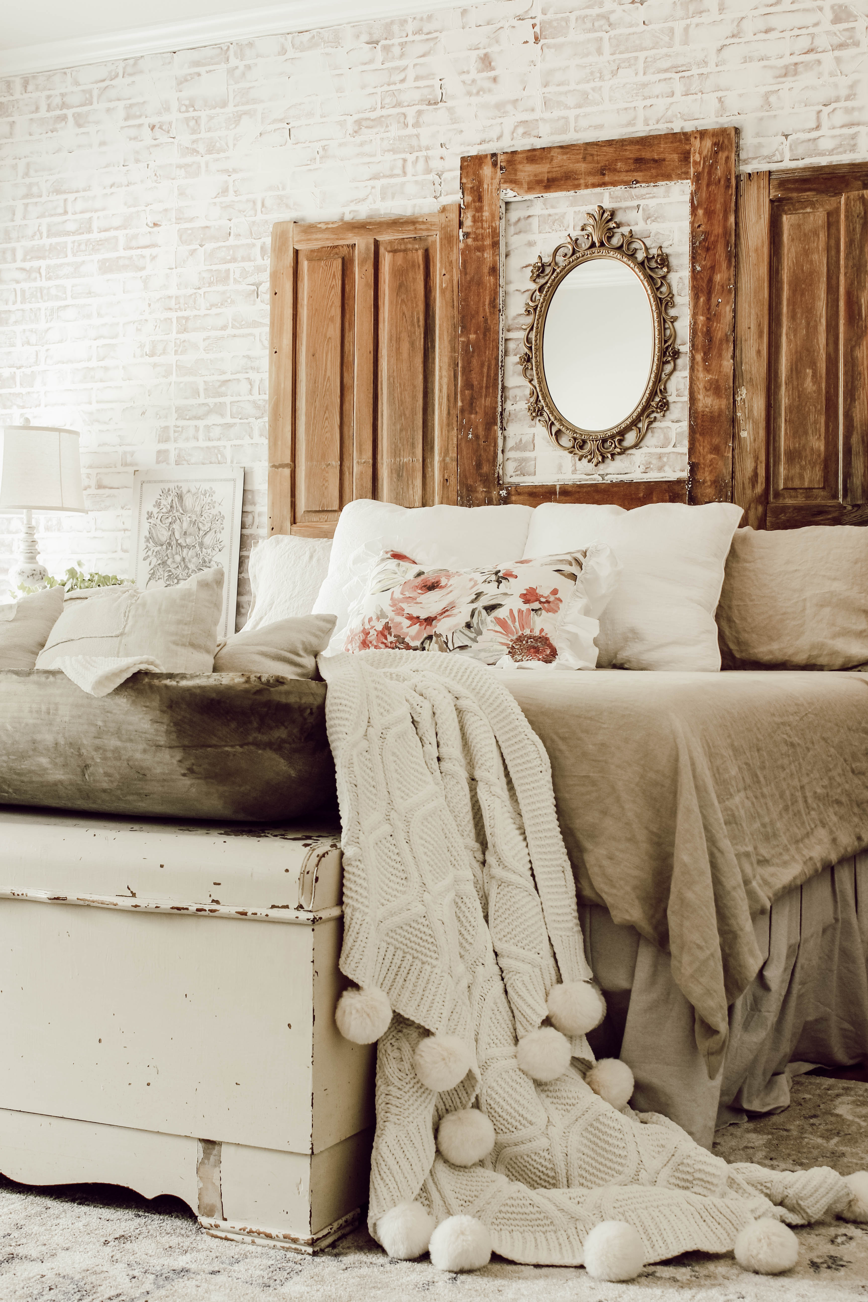 a cozy cottage bedroom makeover