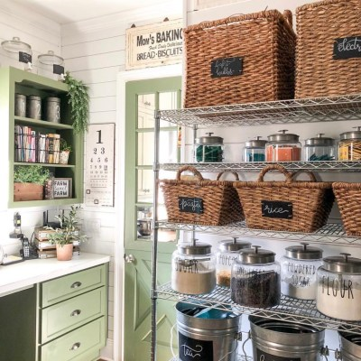 Kitchen Pantry Ideas & Organization Tips