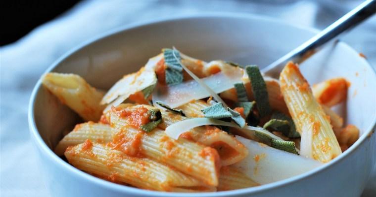 Rachel Ray's Pumpkin Pasta