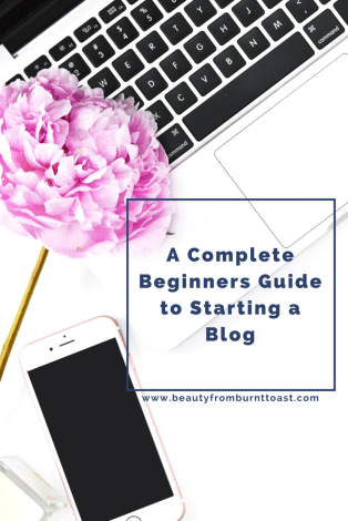 starting a blog blog graphic