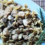Mushroom Rosemary Chicken
